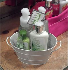 Pail Carryall As Merchandising