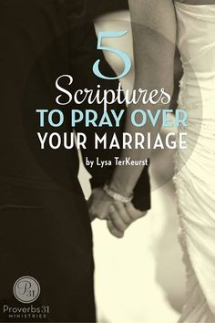 Being married is incredibly difficult. Being married is amazing. Being married can seem impossibly hard. Being married can seem incredibly beautiful. Determine to pray more words over your marriage than you speak about your marriage. Here are 5 scriptures to be praying over your marriage.
