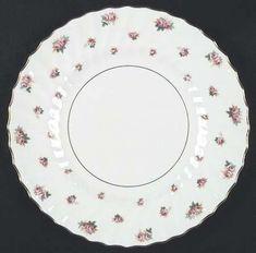 Royal Doulton Rosebud.  Great foundation for mixing and matching china patterns.