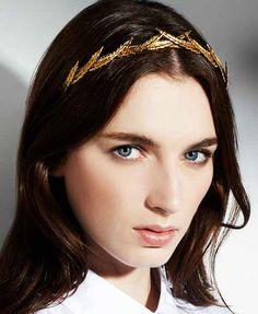 A Grecian crown fit for a queen. @Jennifer Milsaps L Behr