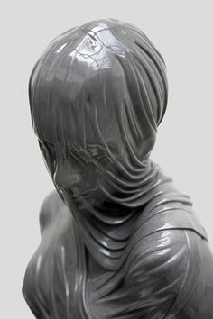 These are amazing! Veiled Figures of Bronze and Marble by Kevin Francis Gray