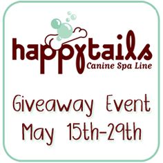 $100 Happy Tails Canine Spa shopping spree ends 5/30