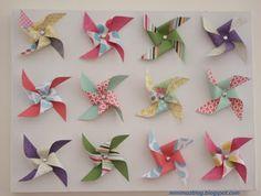 DIY - Pinwheel Canvas