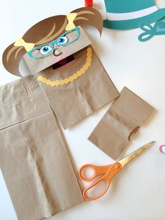 Free Printable Paper Bag Puppets