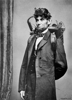 Abraham Lincoln, Ghostbuster.