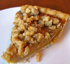 Pumpkin Recipes | Pumpkin Streusel Pie Recipe