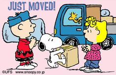 snoopy Just Moved