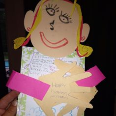 A homemade mothers day card from my six year old!!