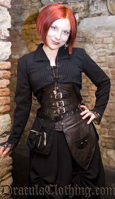 .Redhead steampunk girl