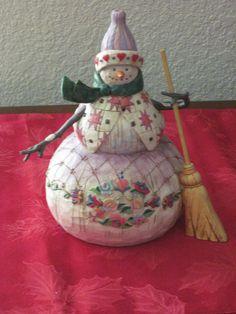 A Jim Shore Snowman