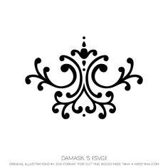Damask 5 {SVG}