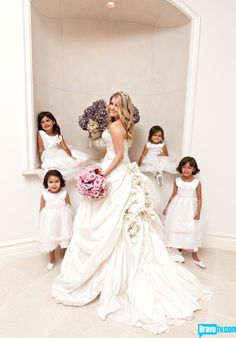The Real Housewives of Beverly Hills  Pandora's Wedding gown was so beautiful