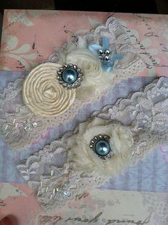 vintage inspired lace garter