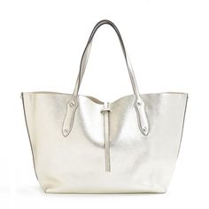 "The ""Small Isabella"" Item Tote Silver"