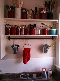 shop idea, hous idea, sinks, sink idea, crafti idea