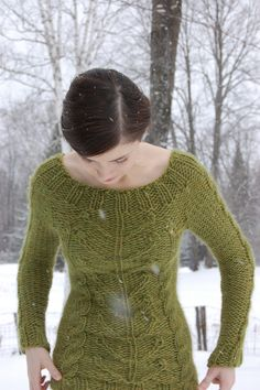 Green sweater - lovely