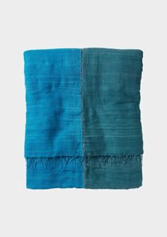 Gabi - handspun cotton Ethiopian shawl from Toast House & Home SS12