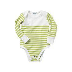 Hanna Andersson Nautical Stripe Bodysuit