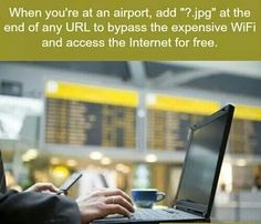 Airport internet