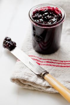 Blackberry jam.