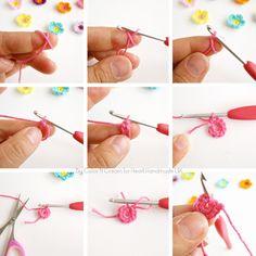 Craft Cafe Crochet Flower Garland Pattern