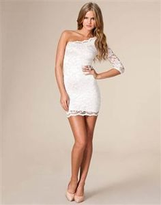 The wbd white bachelorette dress on pinterest for White after wedding party dress