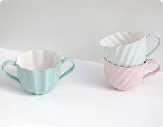 pastel tea cups..