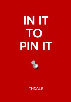 IN IT TO PIN IT!!!