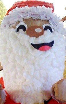 Custom MOVING Santa Pinata Jolly Holiday Collection by PinataMama, $65.00