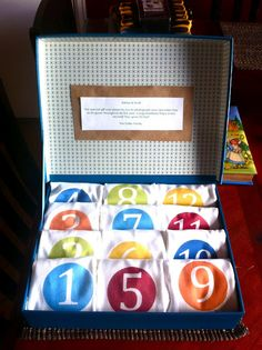 Baby shower gift idea. Oneies with numbers on it so you can take a picture of baby every month.