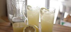 Fresh Ginger and Lemon Italian Soda