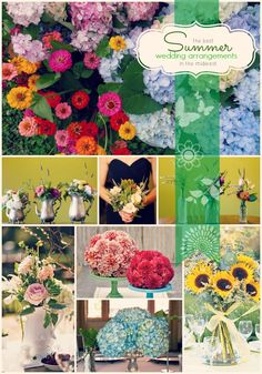 """Had a great time working to find what one expert calls the """"best"""" seasonal wedding flowers for Midwest weddings. This particular post features summer flowers, but the blog itself covers spring, summer, fall and winter. #Snappening"""
