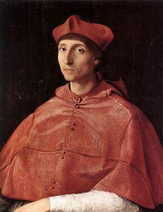 Raffello da Urbino - portrait of a cardinal