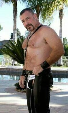 Beefy Man In Chaps