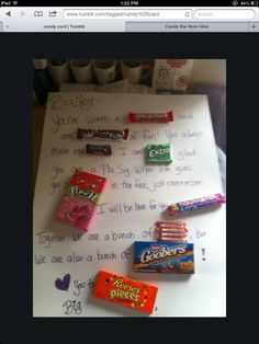Lots of ideas for candy grams more candies posters candy cards candies