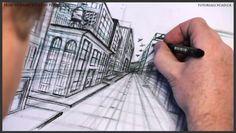 street 500, free tutori, pender street, watch free, one point perspective, tutori onlin