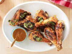 Chipotle-Mango Barbecue Chicken With Cilantro Chimichurri Recipe : Guy Fieri : Food Network - FoodNetwork.com