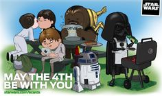 Don't forget tomorrow is Star Wars Day!
