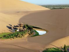 Crescent Lake, Dunhuang China / Andrew Moore