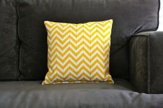 DIY turn stripes into chevron