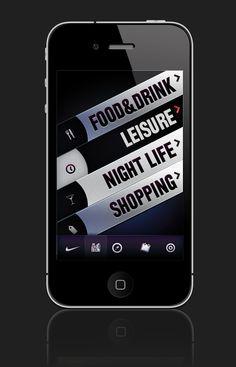 NIKE iphone UI Design by Ersin ANTEP, via Behance