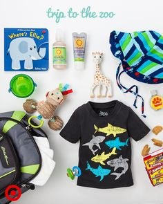 Ready for a wild adventure with Baby? Pack the must-haves—sunscreen, bug spray, toys and snacks—and you're ready to go.