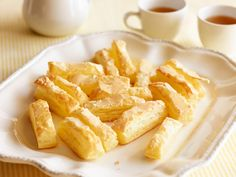 Sugared Puff-Pastry Tea Cookies Recipe : Food Network Kitchen : Food Network - FoodNetwork.com