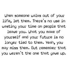 I've tried, do I give up?