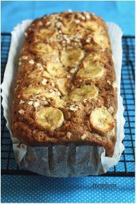 oatmeal chocolate banana loaf