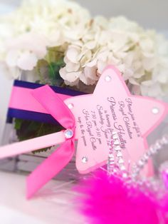 wand invit, parti wand, princess parti, princess party, princess invitations, parti idea