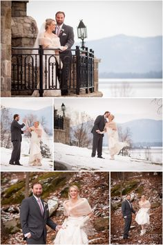 Mallory & Justin - The Inn at Erlowest - Rob Spring Photography
