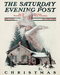 Christmas In July: Classic Holiday Season Saturday Evening Post Covers
