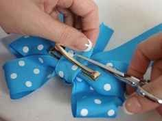 girl ribbon step by step