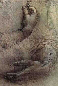Leonardo Da Vinci - Hand Sketches